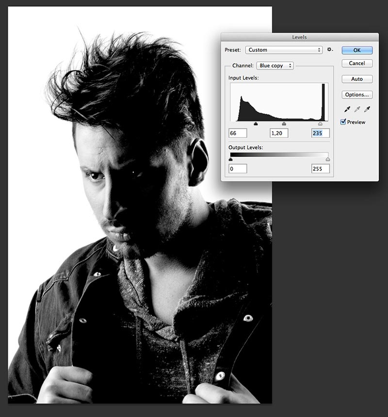 Recortar pelo en photoshop