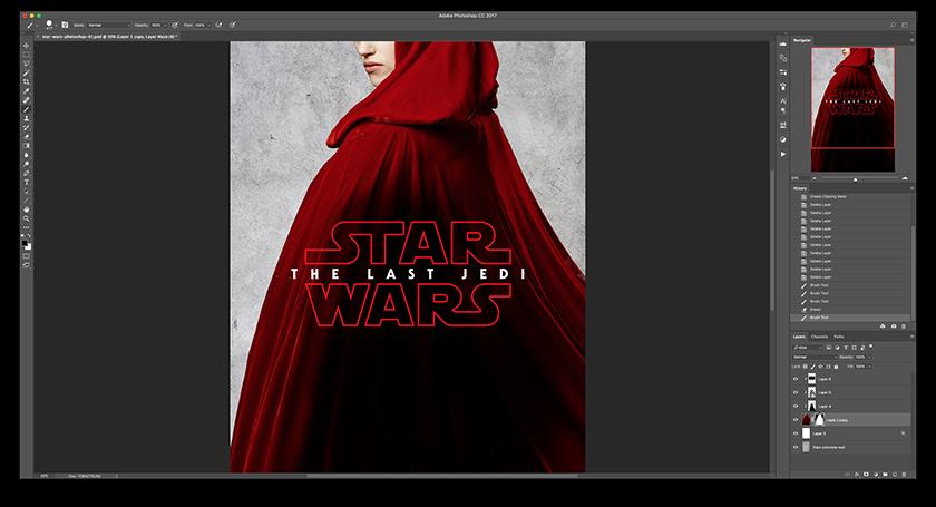 Star Wars en Photoshop