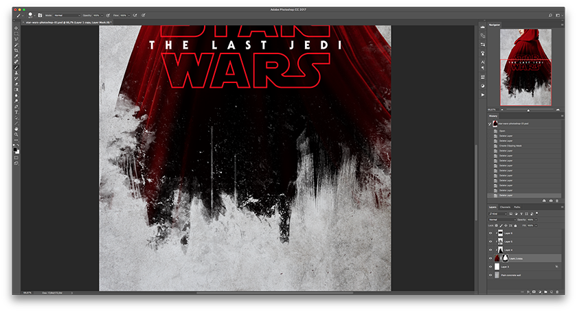Star Wars en Photoshop