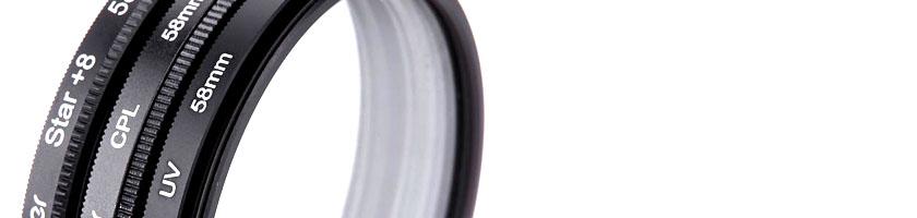 Filtros para lentes