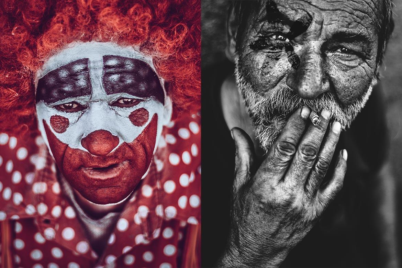 retratos a desconocidos
